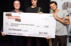 """Grandson, co-writers receive $10,000, other prizes, for """"Blood/Water"""""""